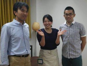 新田さん、澤井先生、瀧口さん 2